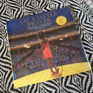 """SIGNED Dionne Warwick """"Say a Little Prayer"""" book"""